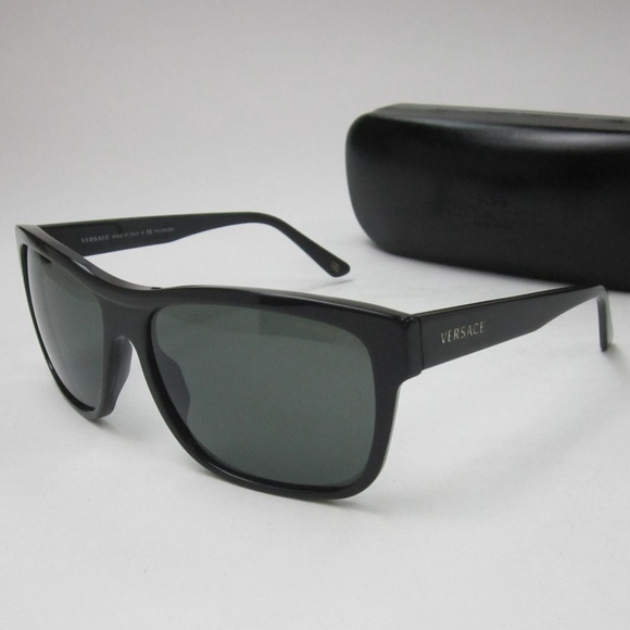 bff2d1d8c0 Versace 4179 GB1 58 Sunglasses Men s Italy OLI455.  M 5b6dd909aaa5b80500121eaf